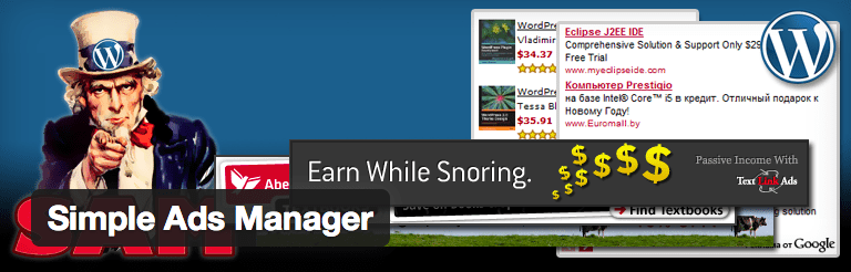 Simple ads manager Adsense