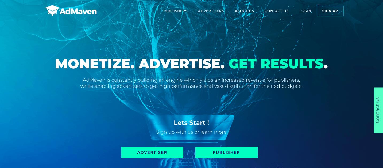 AdMaven ad network