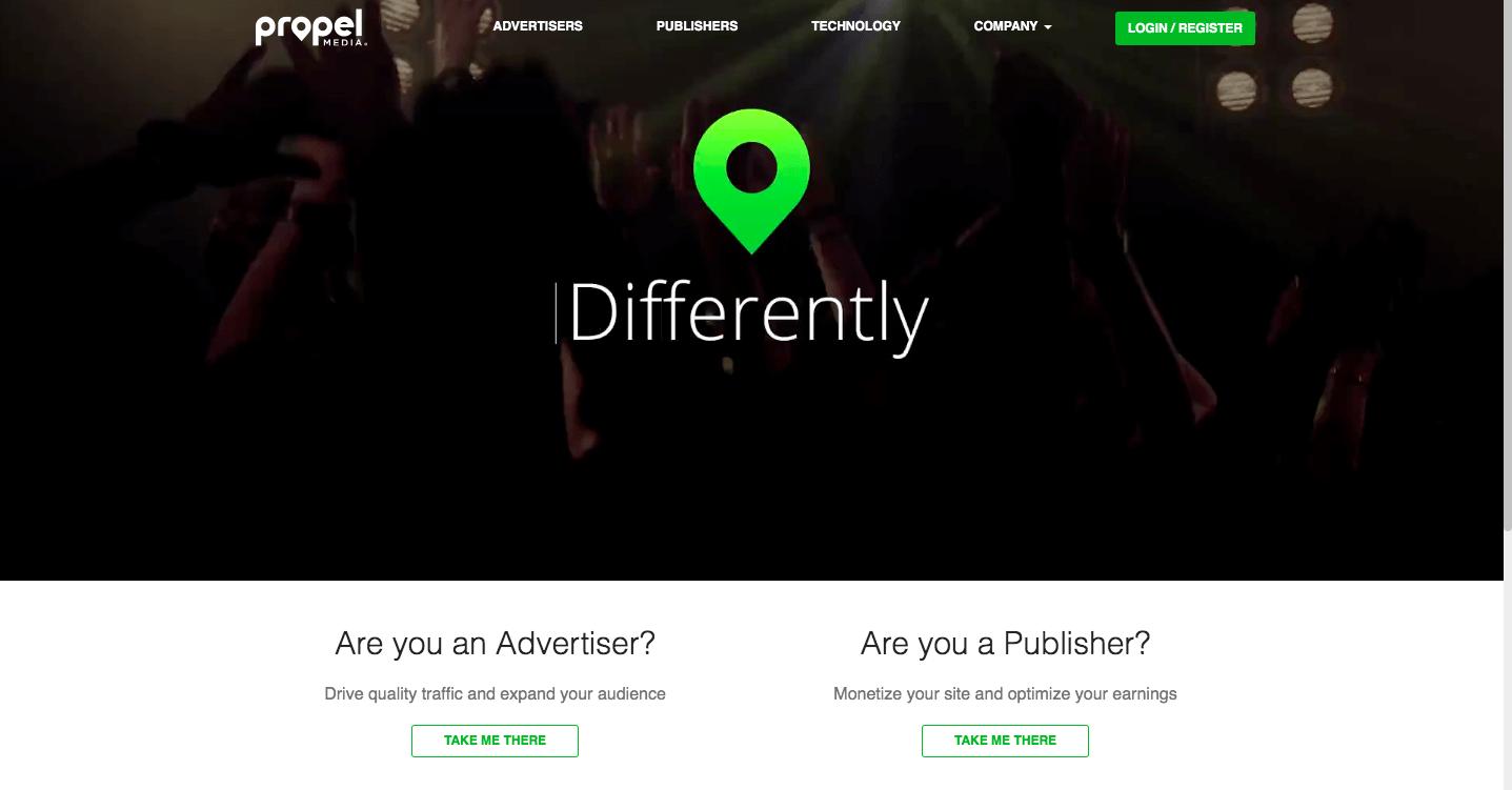 PropelMedia ad network