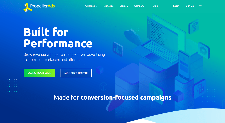 PropellAds ad network