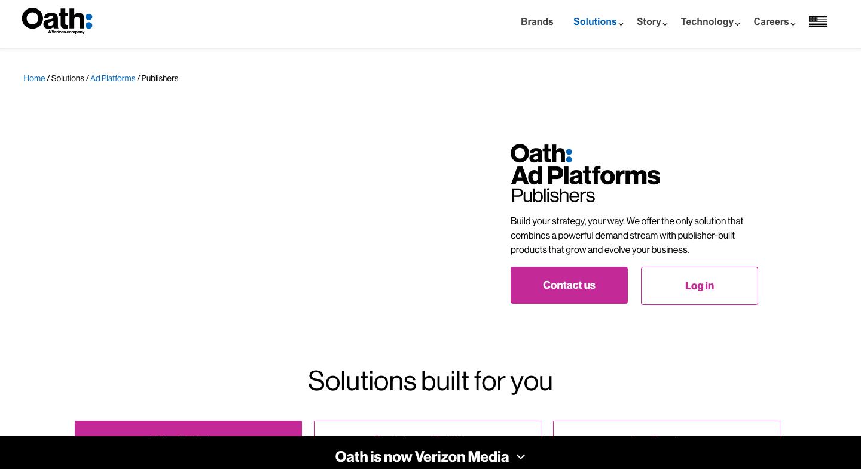 VerizonMedia ad network