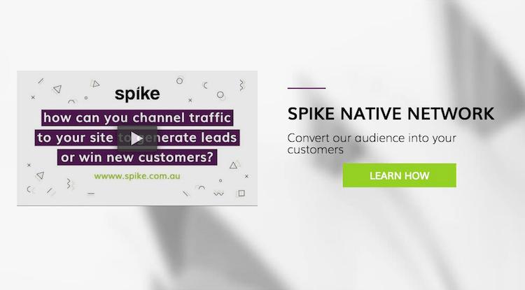 Spike ad network