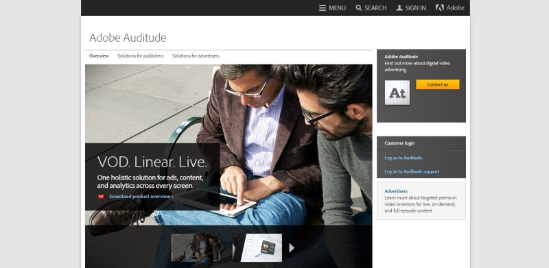 Adobe Auditude