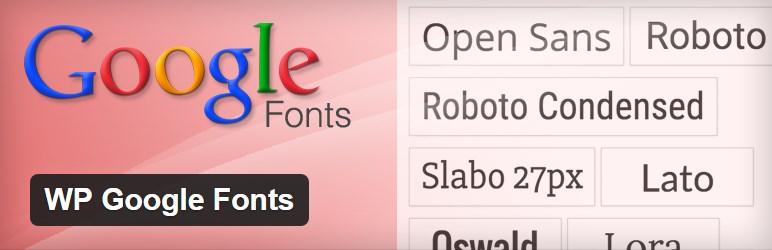 WP Google Fonts