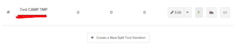 And if you're feeling advanced, you can set any number of split tests for each of your forms