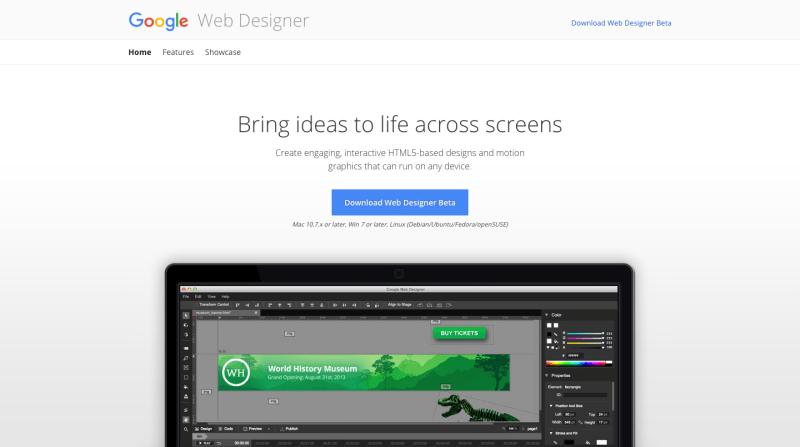 Google Web Designer 1