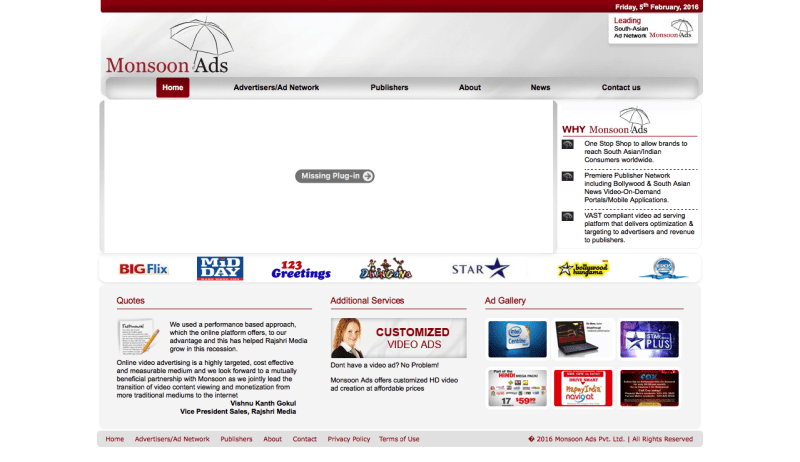 Monsoon Ads
