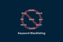 keyword blacklisting for publishers