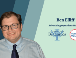 Ben Elliff ad operations manager at Encyclopædia Britannica