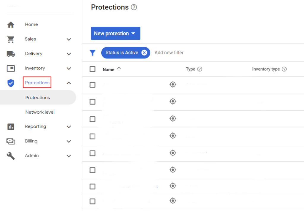 Protections in Google Ad Manager for blocking Inappropriate Ads