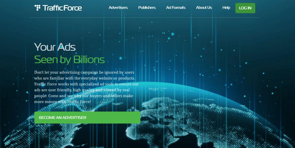 trafficforce ad network