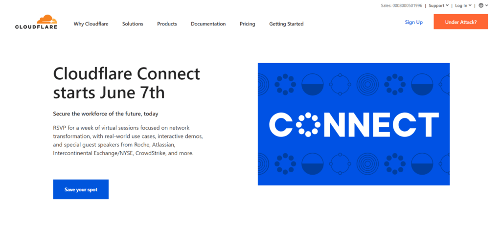 Cloudflare CDN platform