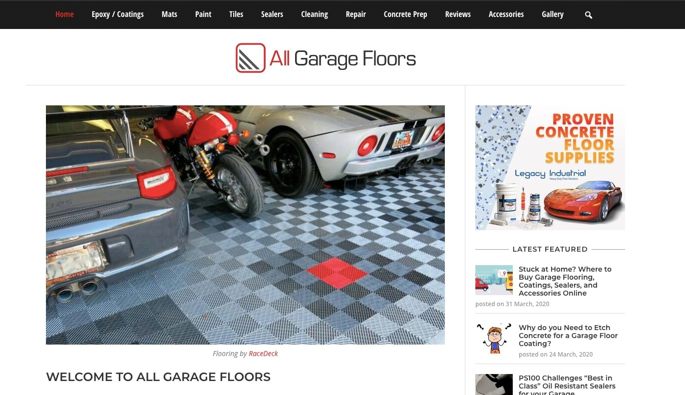 All Garage Floors and AdPushup