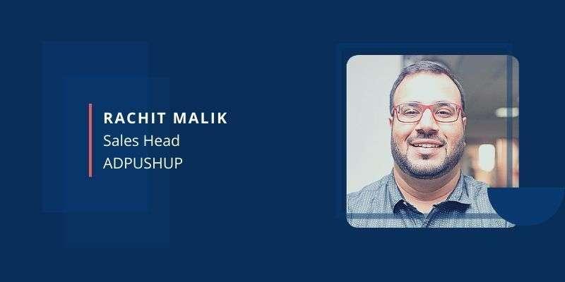 Rachit Malik, AdPushup